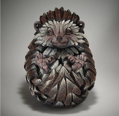 handpainted Edge sculpture hedgehog sculpture from UK