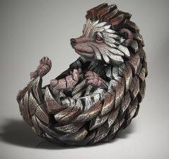 Handpainted hedgehog sculpture from UK
